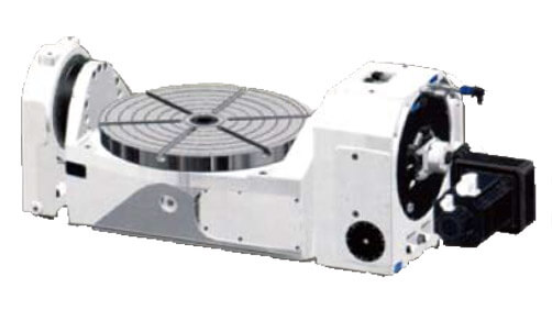 GVM-800U Torque Motors Driven Tilting Rotary Table