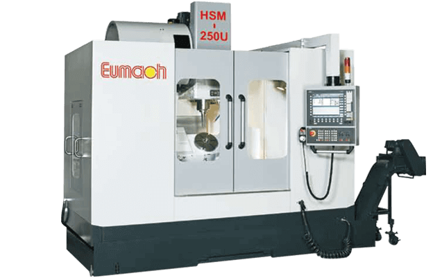 model HSM-250U of 5-Axis Machining Center