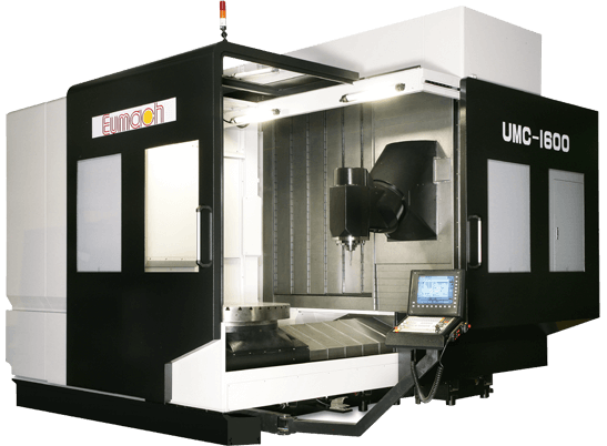 UMC-1600 Twin Sliding Doors Open 90°